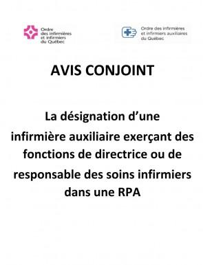 Avis Conjoint Designation Inf Aux Responsable Rpa