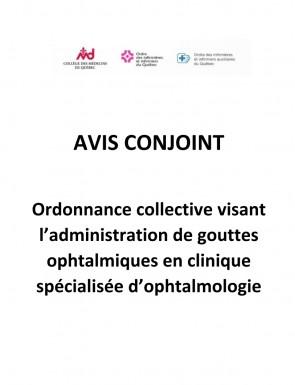 Gouttes Ophtalmologiques