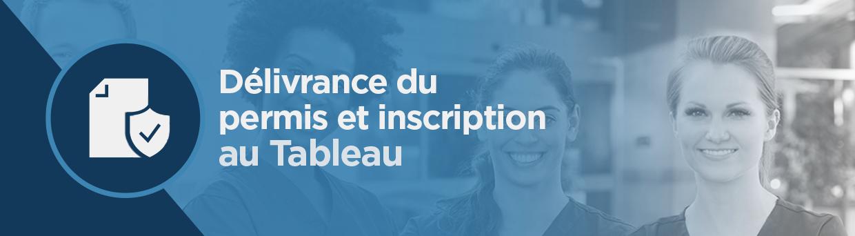 Delivrance Du Permis Et Inscription Au Tableau Oiiaq