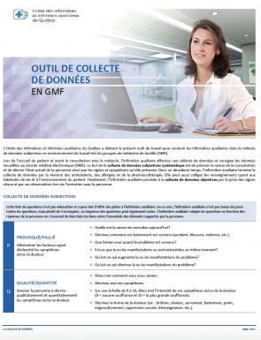 Outils Collecte De Donnees