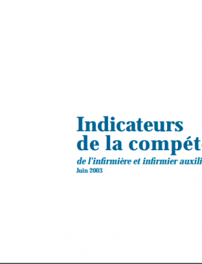 Indicateurs Competence