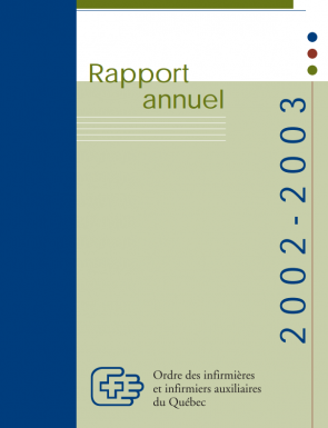 Rapport Annuel2002 2003